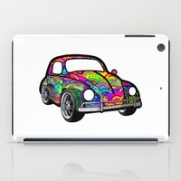 hippie iPad Cases featuring Buggin - Hippie by Tali Rachelle