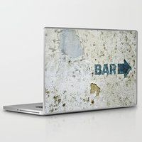 bar Laptop & iPad Skins featuring BAR by ollily