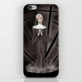 Martyred to Hell iPhone Skin