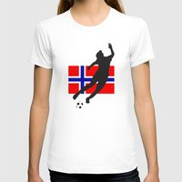 norway T-shirts featuring Norway - WWC by Alrkeaton