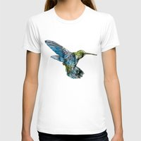 hummingbird T-shirts featuring Hummingbird by madbiffymorghulis
