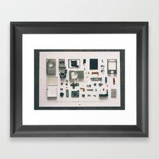 My Little Camera Framed Art Print