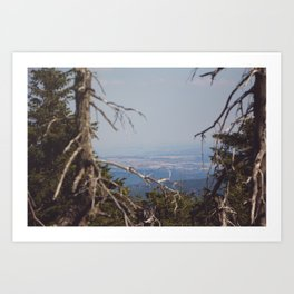 Brocken View II Art Print