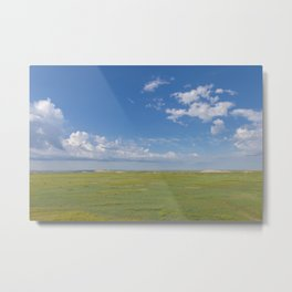 Wide Open Spaces - Badlands Photography Metal Print