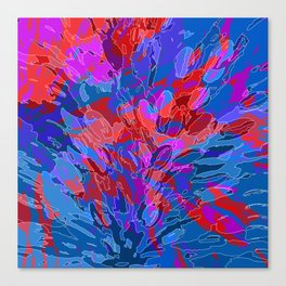 exploding coral Canvas Print