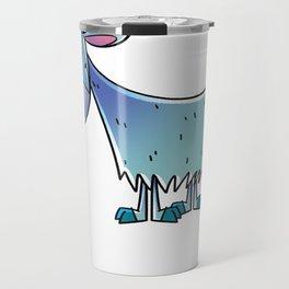 Goat Happy Travel Mug
