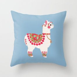 The Alpaca Throw Pillow
