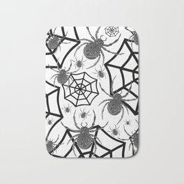 Black And White Halloween Bath Mat