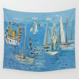 Raoul Dufy Sailboats Wall Tapestry