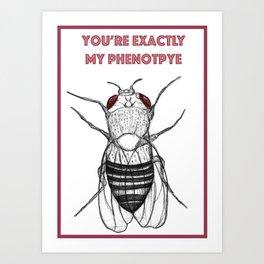 You Are My Phenotype Art Print