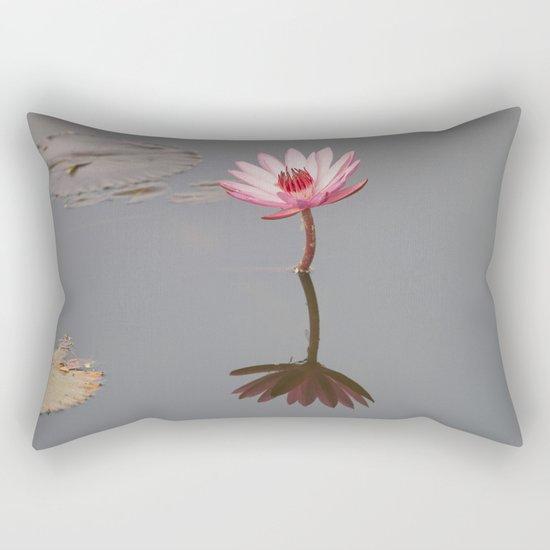 One Lotos Rectangular Pillow
