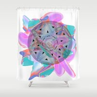 holographic Shower Curtains featuring Colour Me by Belinda O'Connell