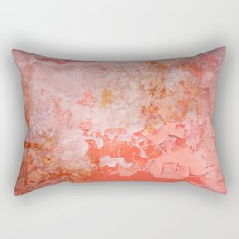 painted wall italy colors Rectangular Pillow