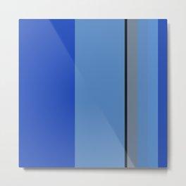 Mountain Bluebird Color Pallet Metal Print