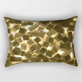 3D What Burns in Your Box? Rectangular Pillow