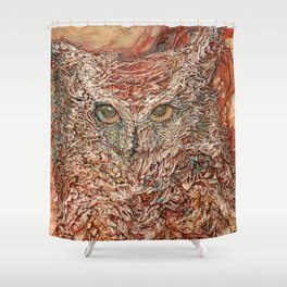 Wind Rider Shower Curtain