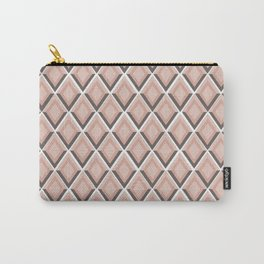 pink snake skin print Carry-All Pouch
