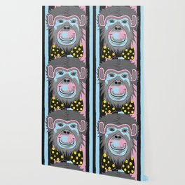 Chimp Off The Old Block Wallpaper