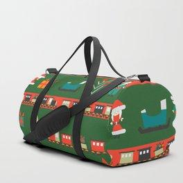 Santa's Christmas laboratory Duffle Bag