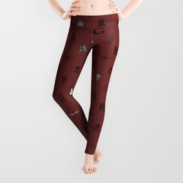 House of the Brave - Pattern II Leggings