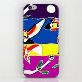 Bird Chorus        by Kay Lipton iPhone Skin