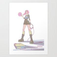 Poster poser Art Print