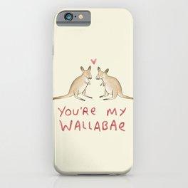 Wallabae iPhone Case