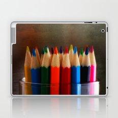 Rainbow Crayons Laptop & iPad Skin