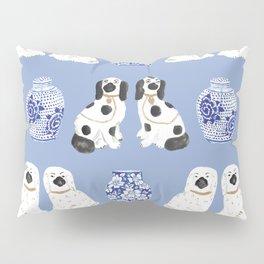 Staffordshire Dogs + Ginger Jars No. 1 Pillow Sham