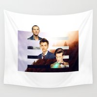 doctor who Wall Tapestries featuring doctor who? by Lorena