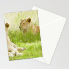 Africa best game reserves maasai mara Stationery Cards