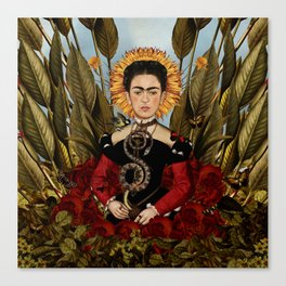 Frida VIII Canvas Print