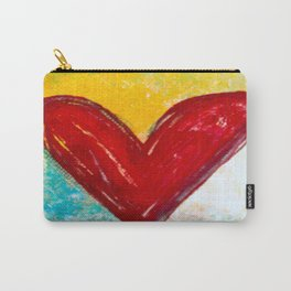 Abstract Heart 2 Carry-All Pouch