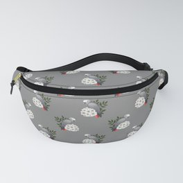Congo African Grey Fanny Pack
