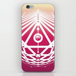 Radiant Abundance (sunrise-white) iPhone Skin