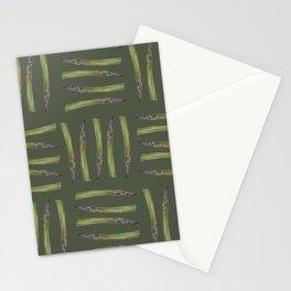 Asparagus design Stationery Cards