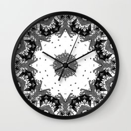 Star Symmetry Wall Clock