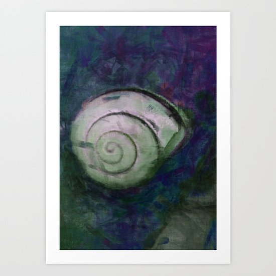 Snailhouse Art Print