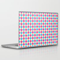 cupcakes Laptop & iPad Skins featuring Cupcakes by Apple Kaur