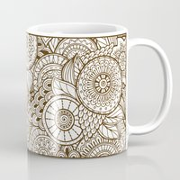 tribal Mugs featuring Tribal by Ale Ibanez