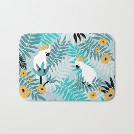 Playful Cockatoos  Bath Mat