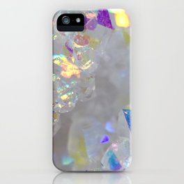 Aurora Borealis Crystals iPhone Case