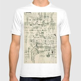 """Paul Klee """"Drawing Knotted in the Manner of a Net"""" T-shirt"""