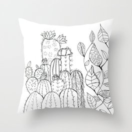 Plant Love Throw Pillow