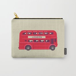 Double Decker - London Carry-All Pouch