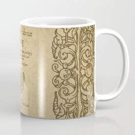 Shakespeare. Much adoe about nothing, 1600 Coffee Mug