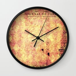 Parisian Harlequin  Wall Clock