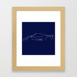 PAGANI ZONDA Framed Art Print