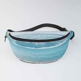 Blue Sea Backdrop Fanny Pack