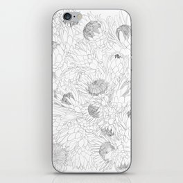 King and Queen Proteas iPhone Skin